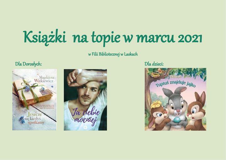 Książki na topie w marcu Laski